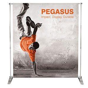 Pegasus messuseinä