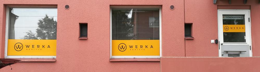 ikkunateippaus werka